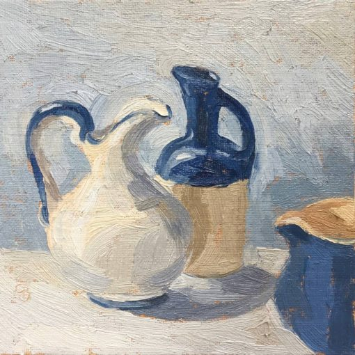 Three Jugs  6x6""