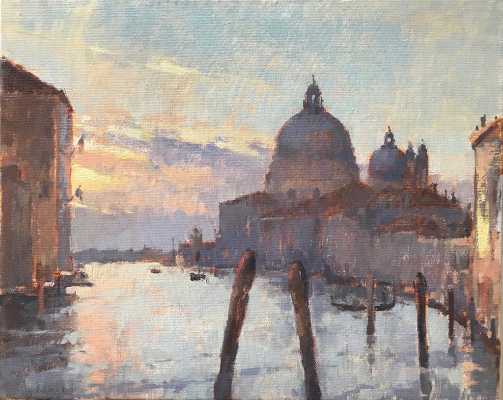 Morning Glow, Grand Canal 50x60cm