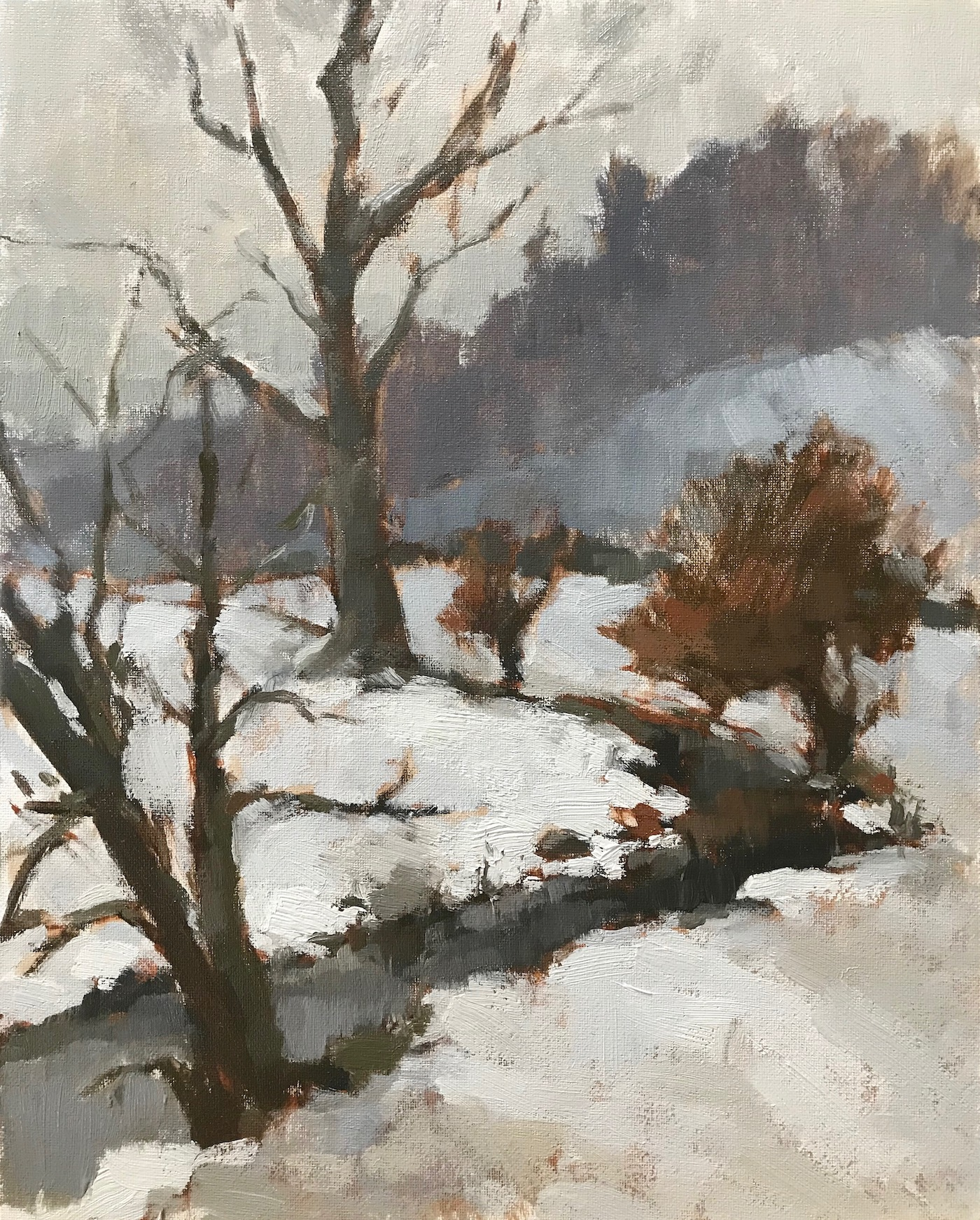 Chilly Brook 24x30cm