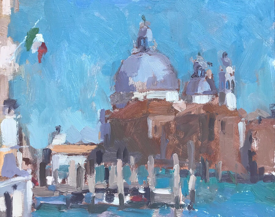 Afternoon Light, Maria Della Salute 8x10""