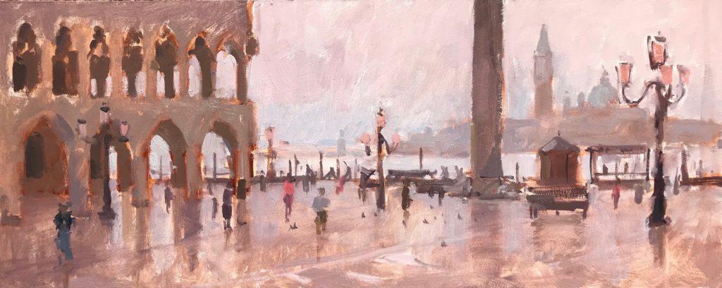 Mist, St.Marks Square
