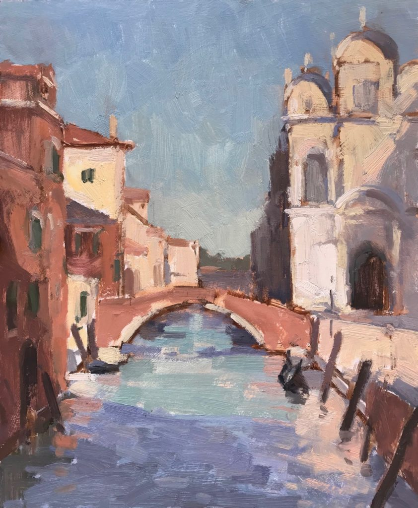 "Ospedale Venice 9x12"" AVAILABLE"