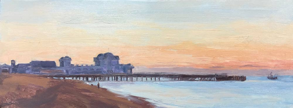 South Parade Pier, Southsea 6x15.5""