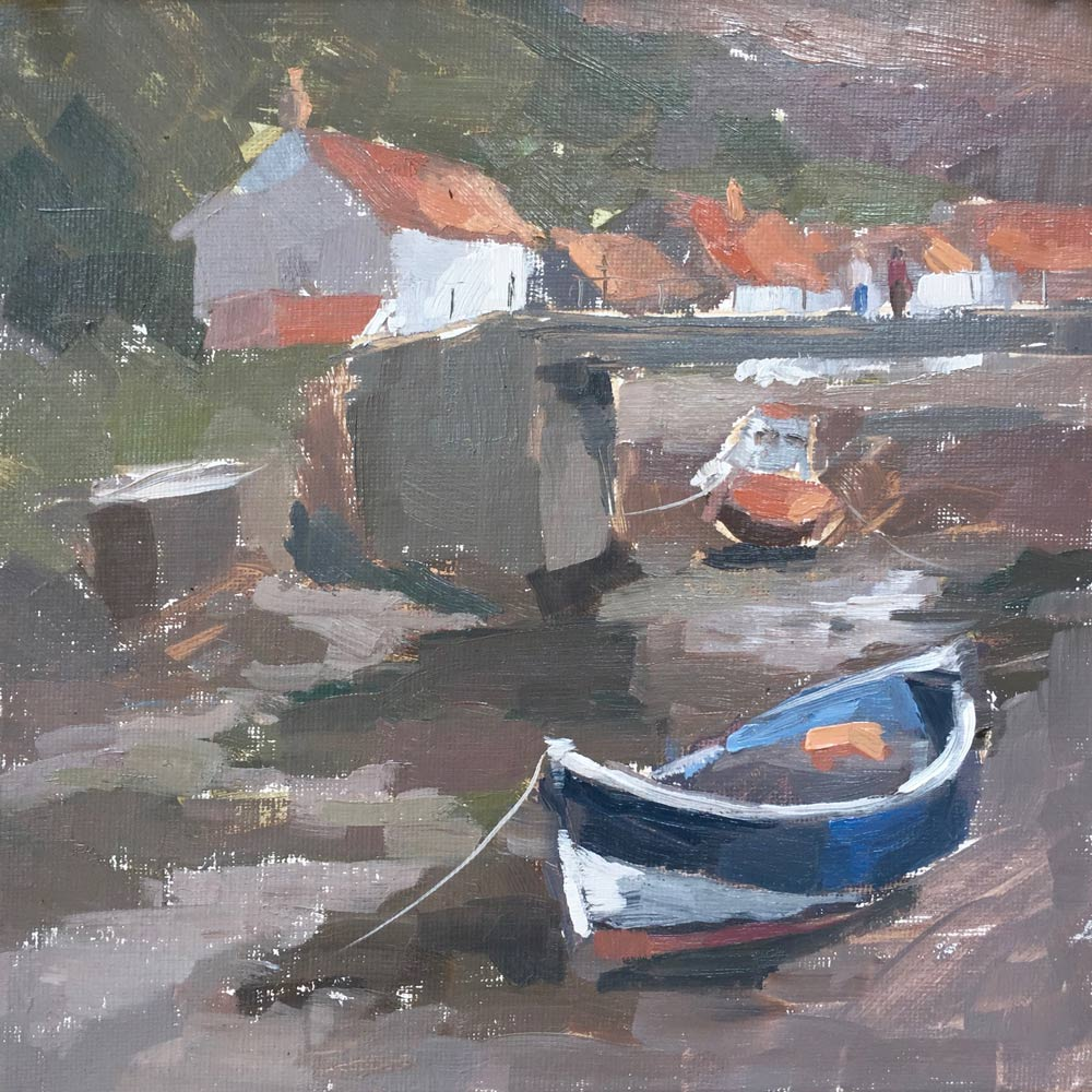 Staithes, The Beck 8x8""