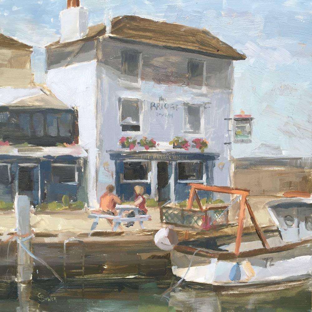 "The Bridge Tavern Camber Docks 8x8"""