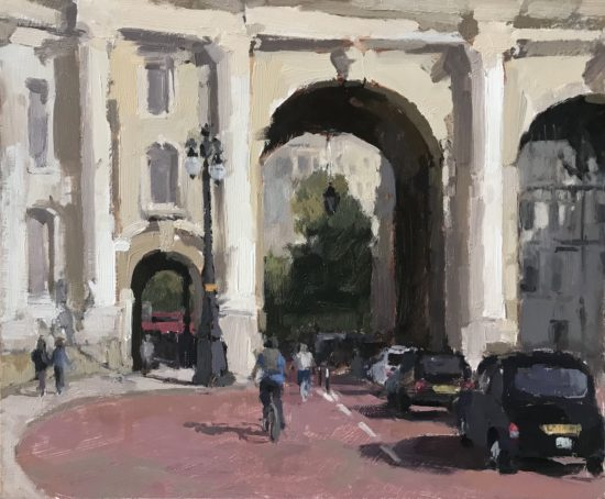 #451 Admiralty Arch, London 10×12″