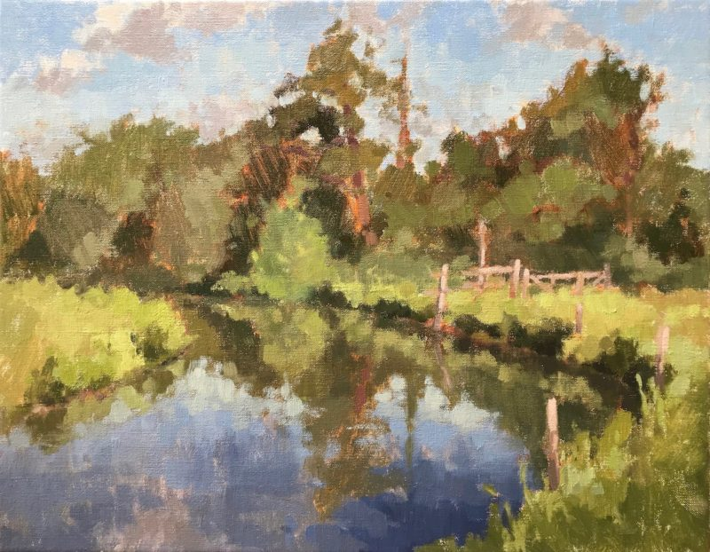 #462 Early Summer, The River Wey