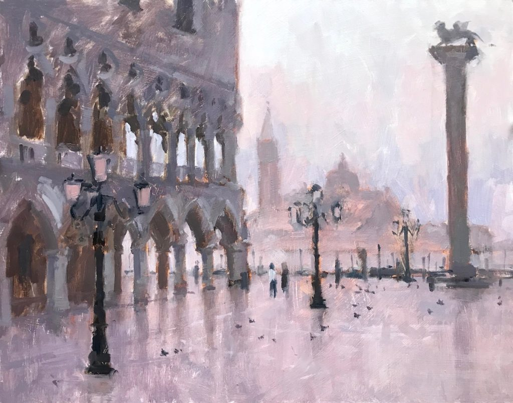 Early Morning, St Marks Square