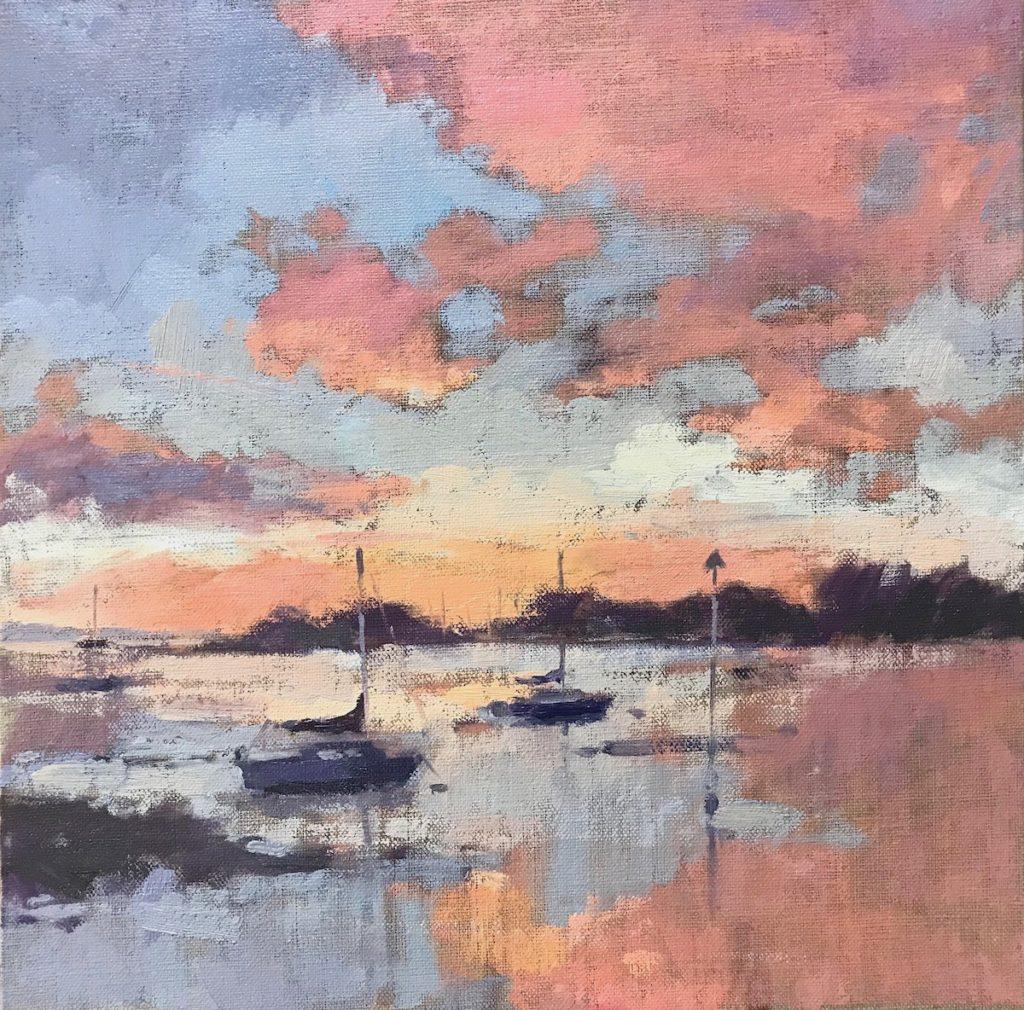 Sunrise, Langstone Harbour