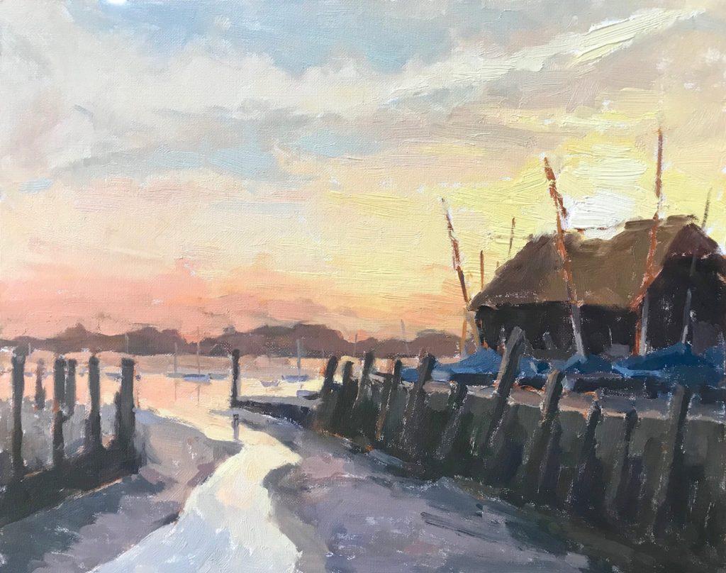 Sunset Bosham
