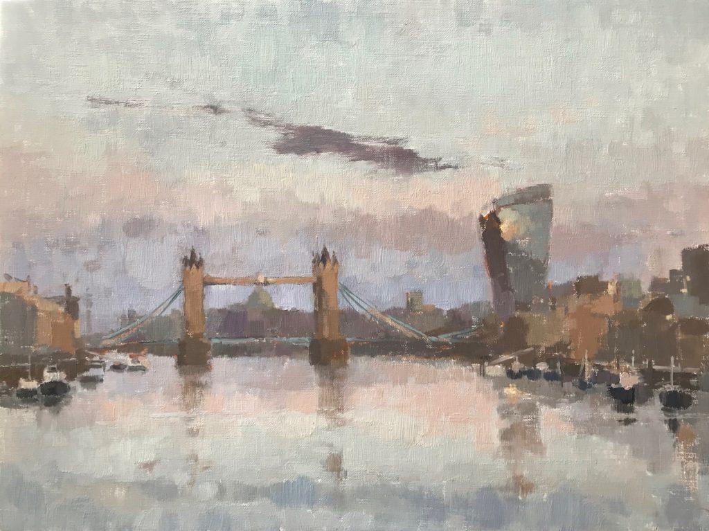 7am Tower Bridge