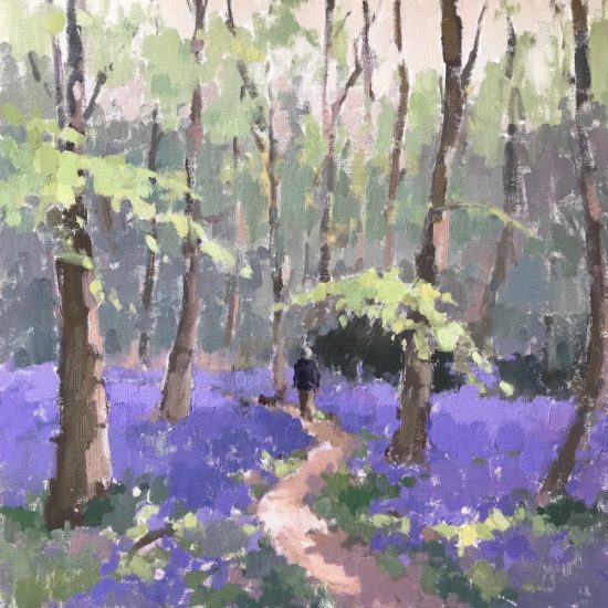 #458 Walk Through The Bluebells & Solo Show Invite!