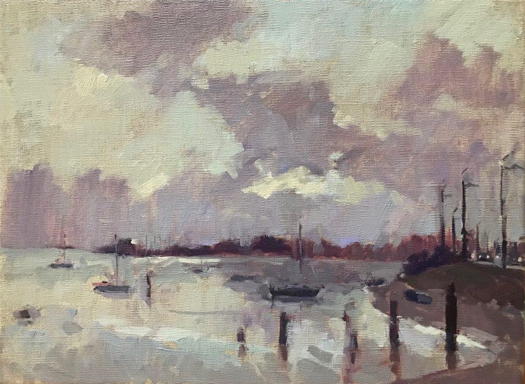 Early Light, Langstone Harbour