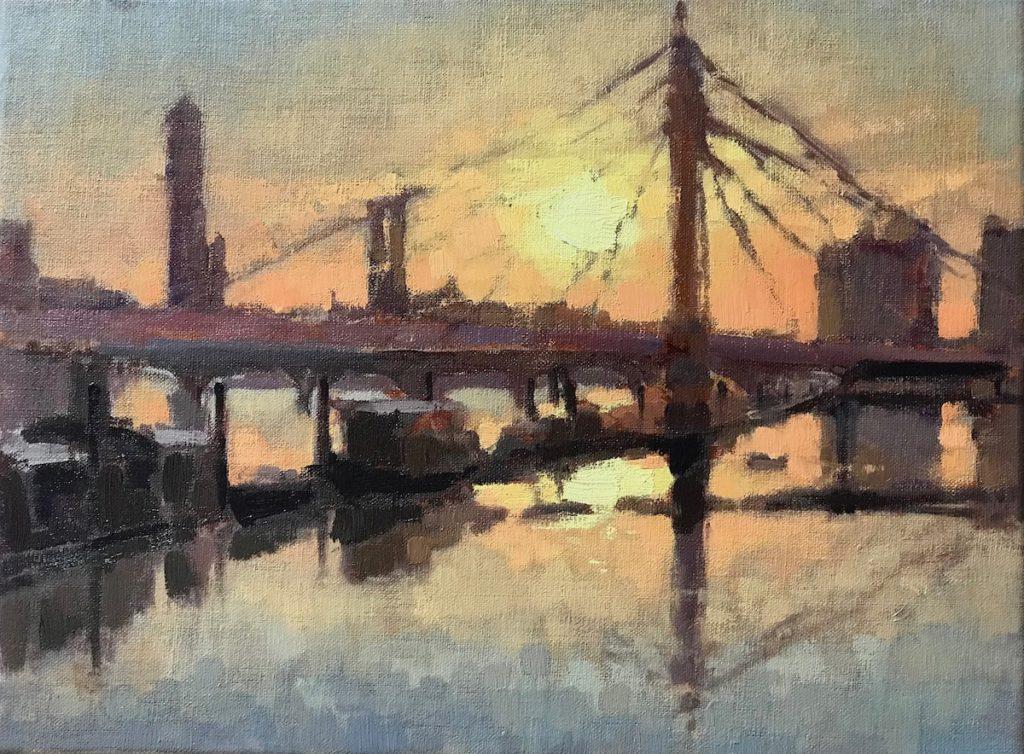 Golden Hour, Albert Bridge