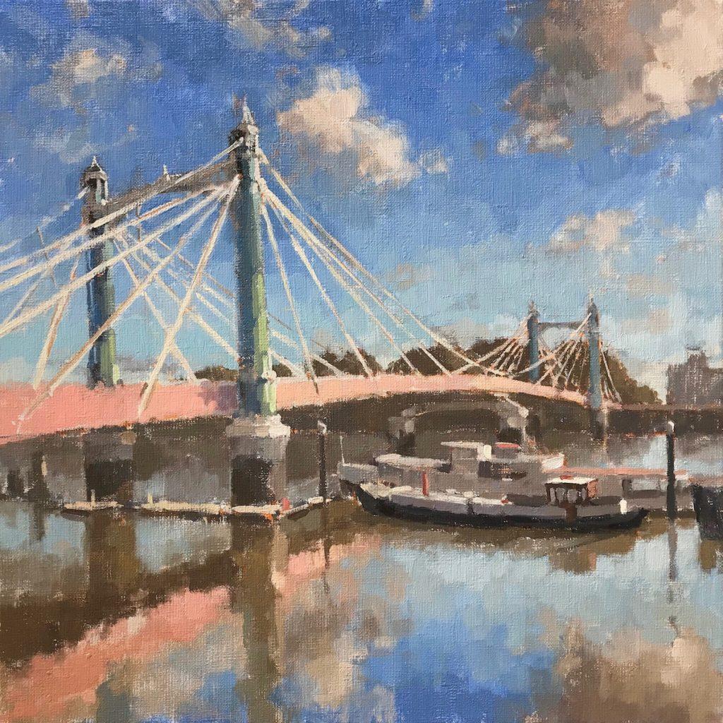 Albert Bridge Reflections
