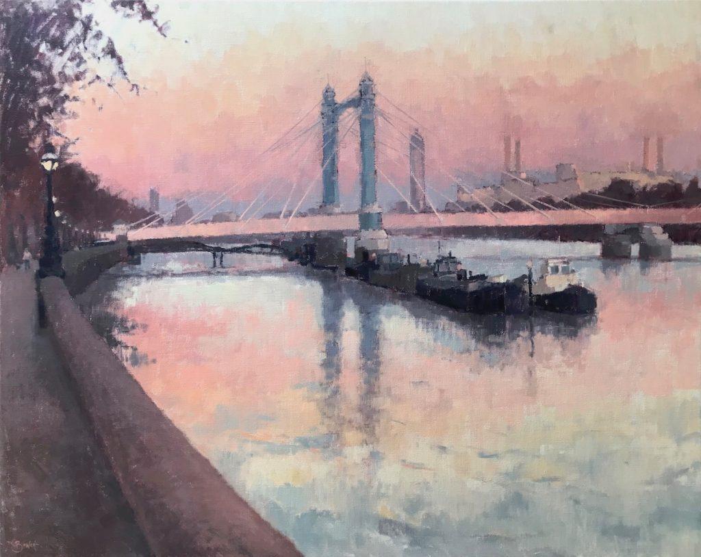 Sunset Albert Bridge