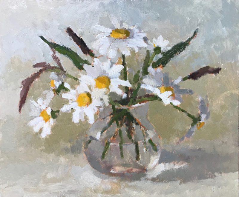 #465 Daisies & Grasses