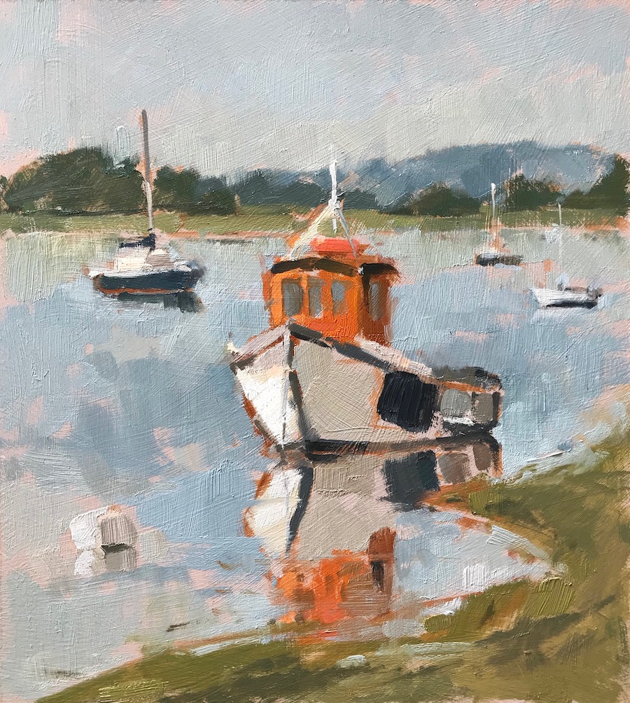 Boats at Dell Quay