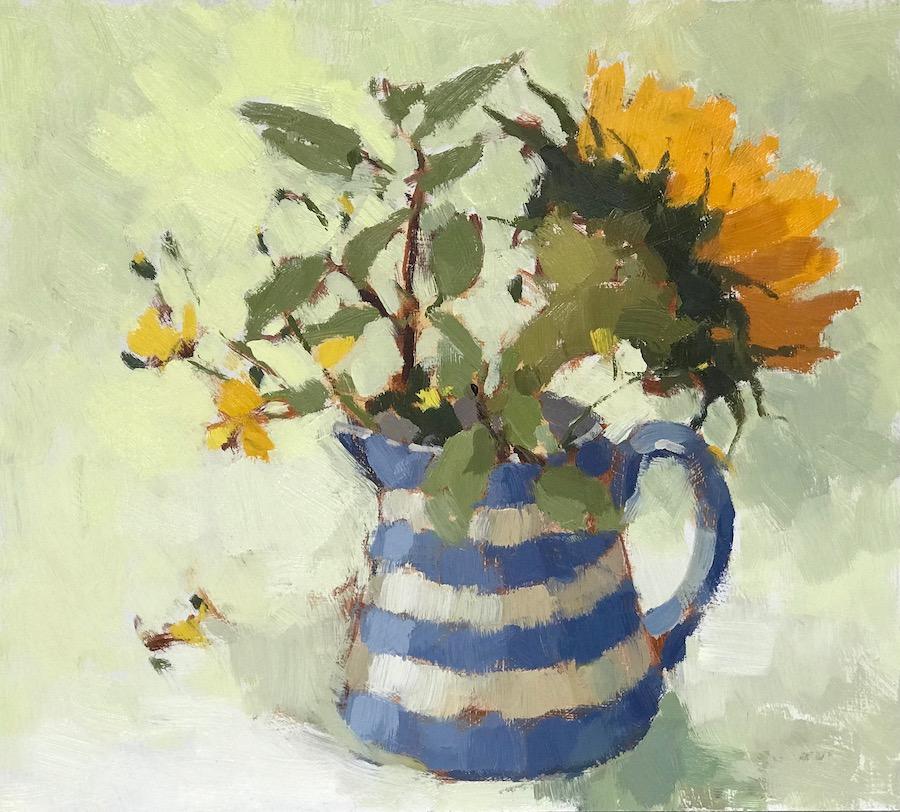 Buttercups & Sunflower