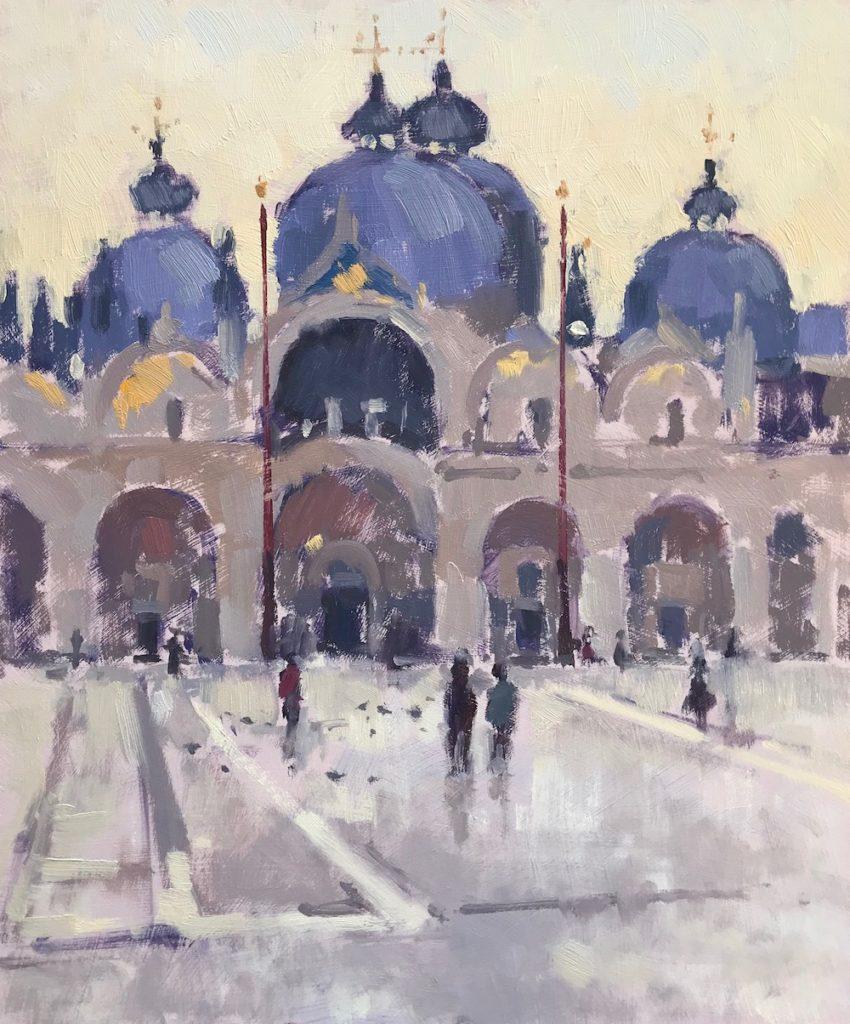 'Morning Light, St Marks Basilica'