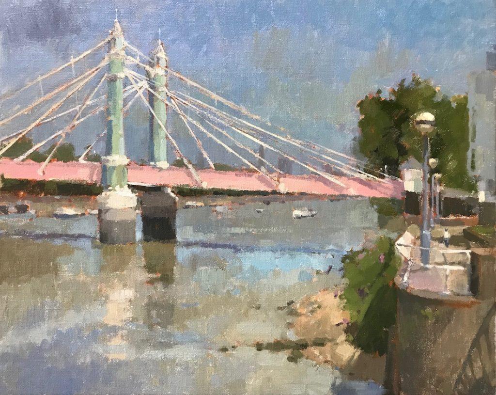 Albert Bridge, Towards Battersea Park