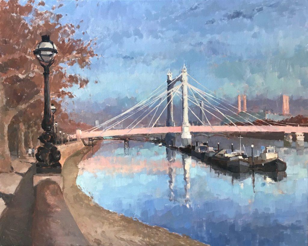 Afternoon Light, Albert Bridge