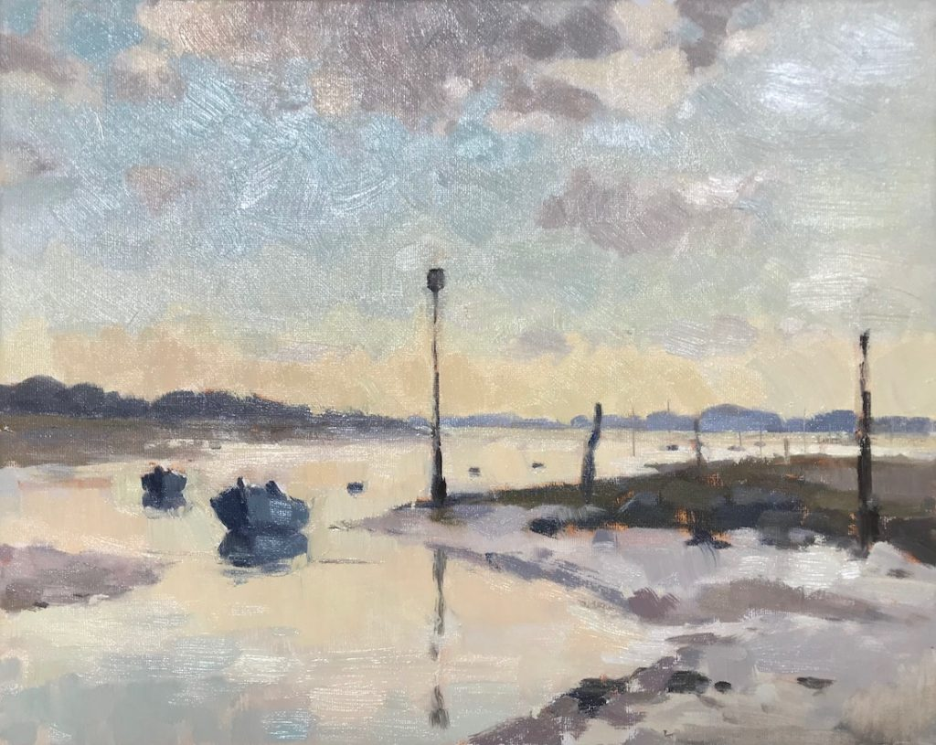 Low Tide Emsworth Harbour