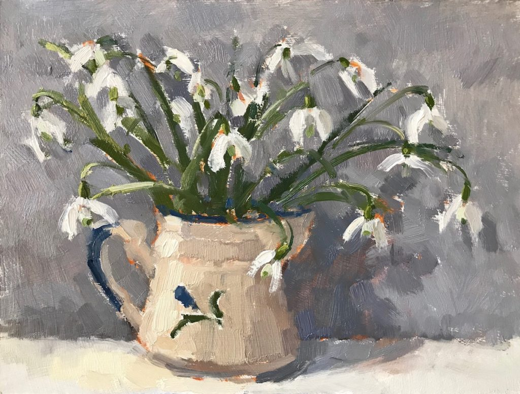 Snowdrops in Little Jug