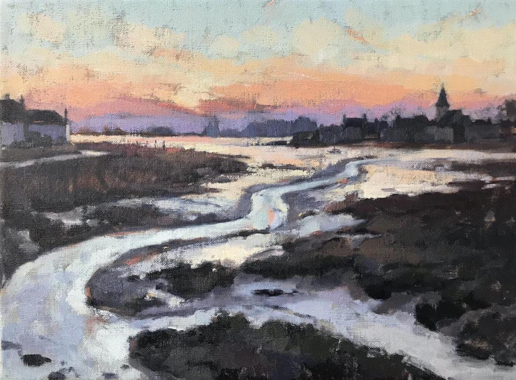 Low Tide Bosham Sunset