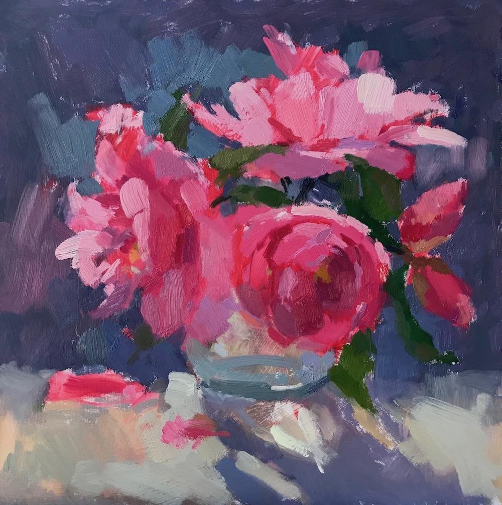 Camellias in Sunshine