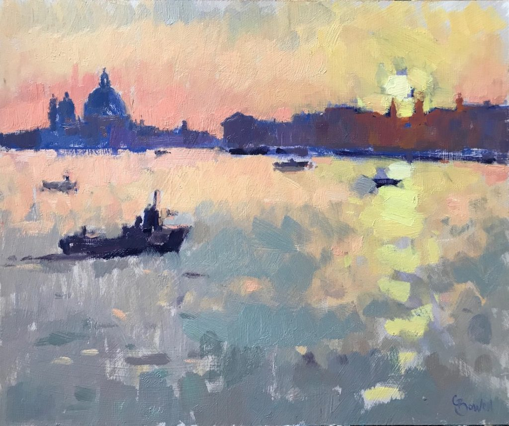 Sunset, Grand Canal Venice