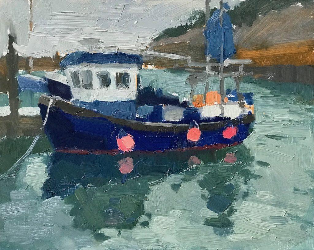 Fishing Boat, Newlyn