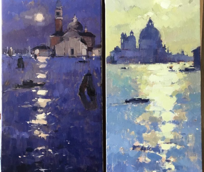 #528 Venice Moon & Sun